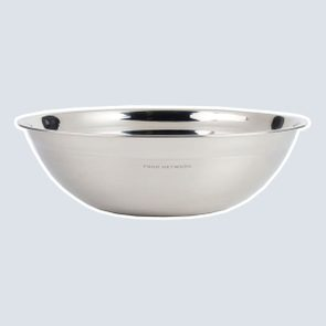 Food Network™ Large Stainless Steel Shallow Bowl