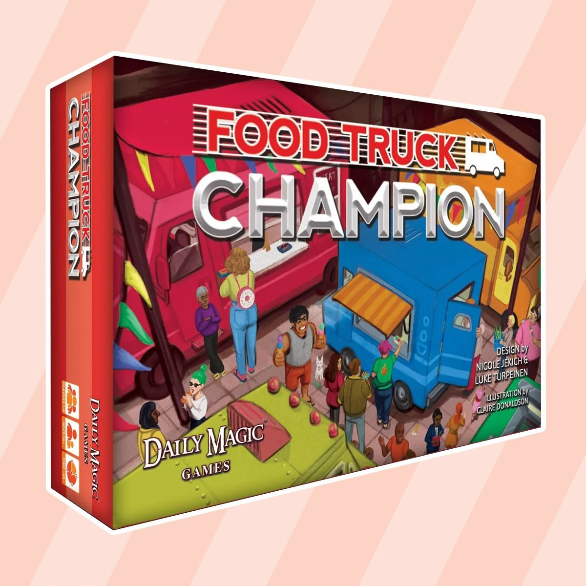 Food Truck Champion (Kickstarter Edition) Board Game