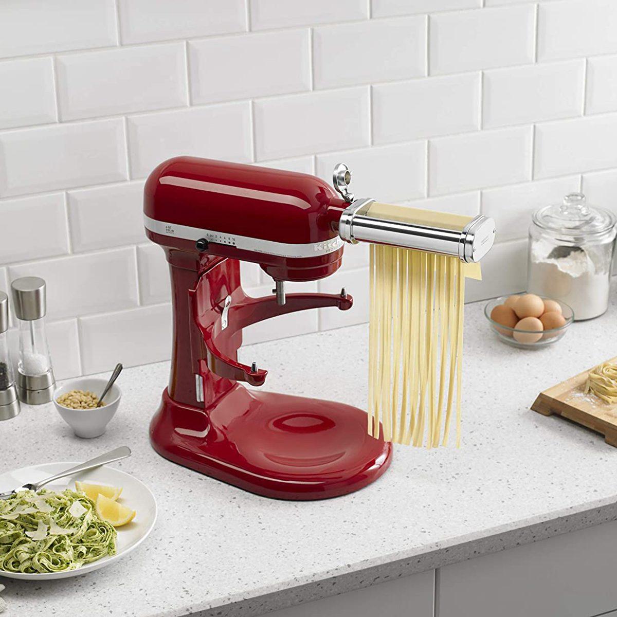 kitchenaid-3-Piece Pasta Roller & Cutter Set