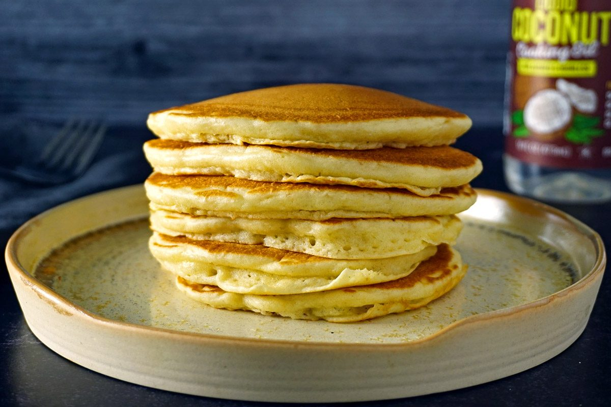 Pancakes without butter