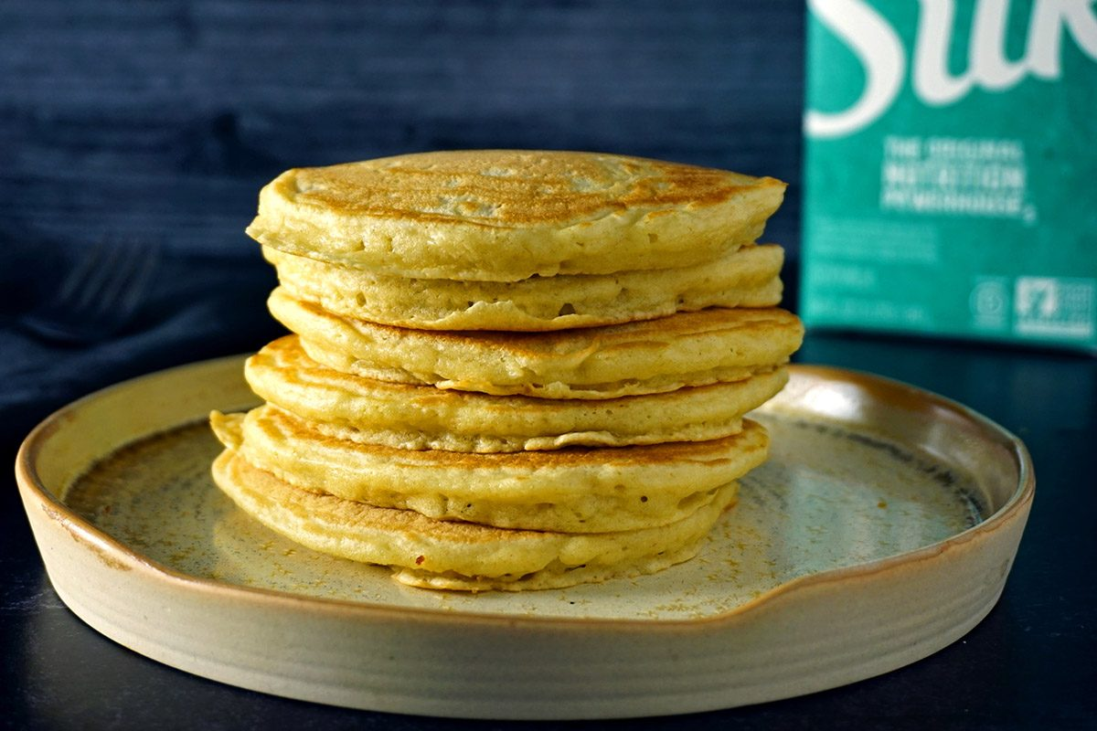 Pancakes with soy milk