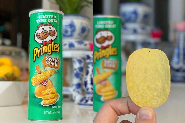 Pringles Sweet Corn Flavor