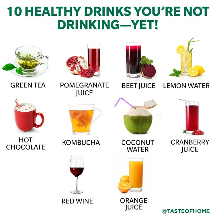 10 Healthy Drinks You're Not Drinking—yet!