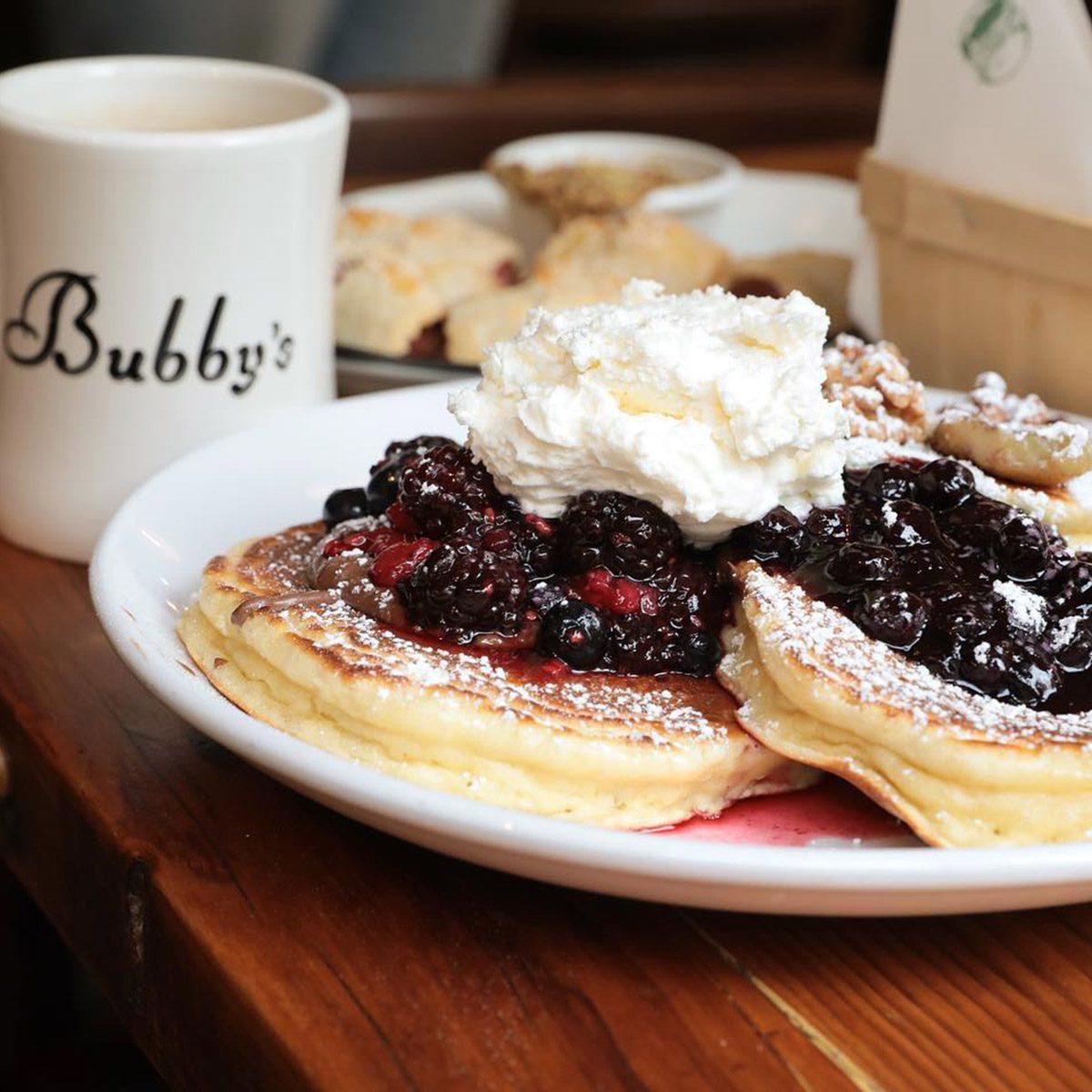 Bubby's, New York City pancakes
