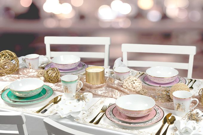 The Disney Princess Dinnerware Collection