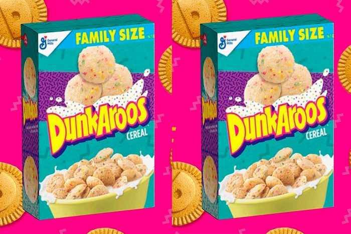 Dunkaroos cereal