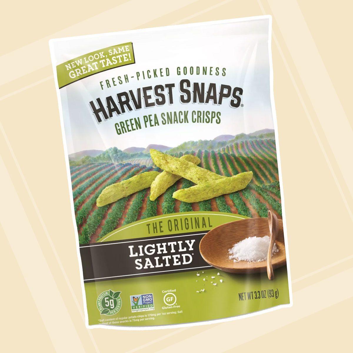 Harvest Snaps Lightly Salted Green Pea Crisps - 3.3oz
