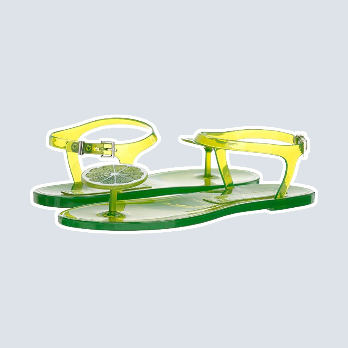 Lime Sandals