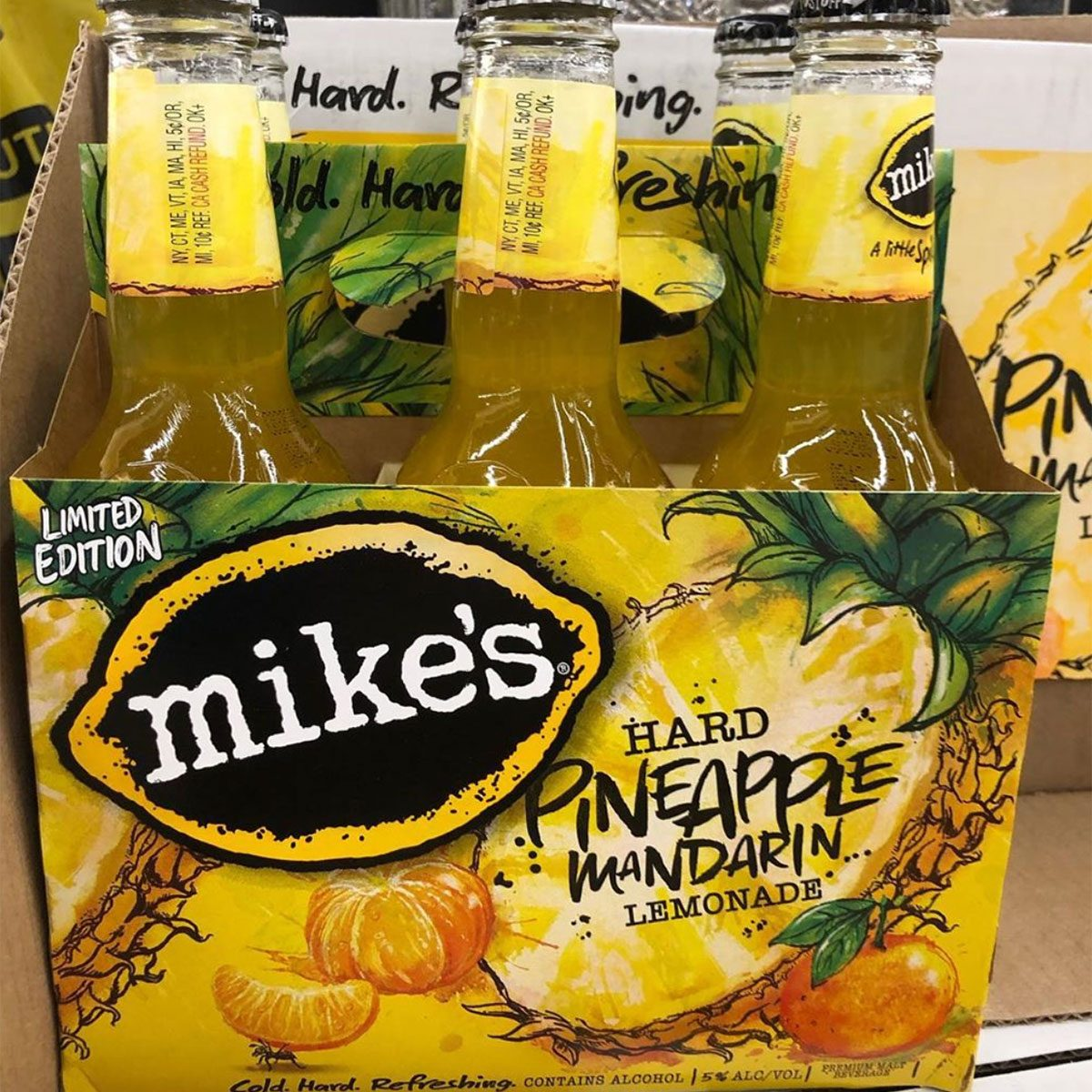 Mike's Hard Pineapple Mandarin Lemonade