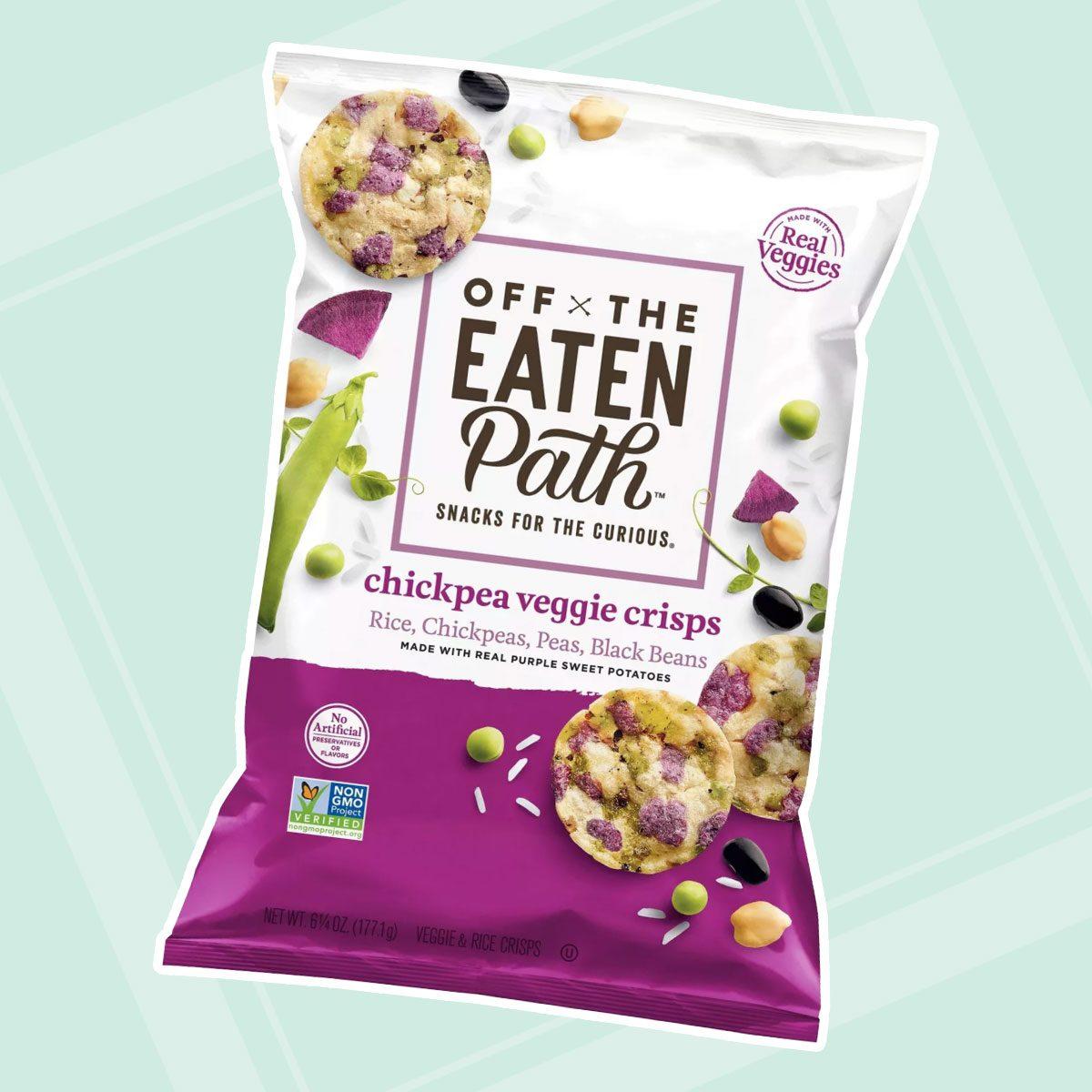 Off The Eaten Path Chickpea Veggie Crisps - 6.25oz