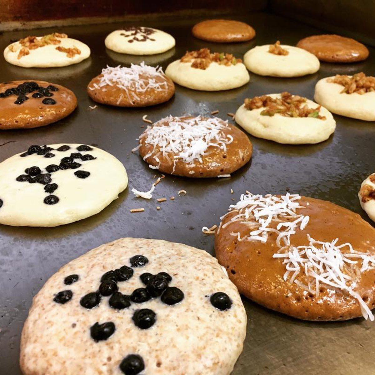 Polly's Pancake Parlor, Sugar Hill pancakes