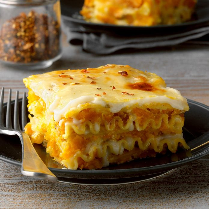 Roasted Pumpkin Lasagna