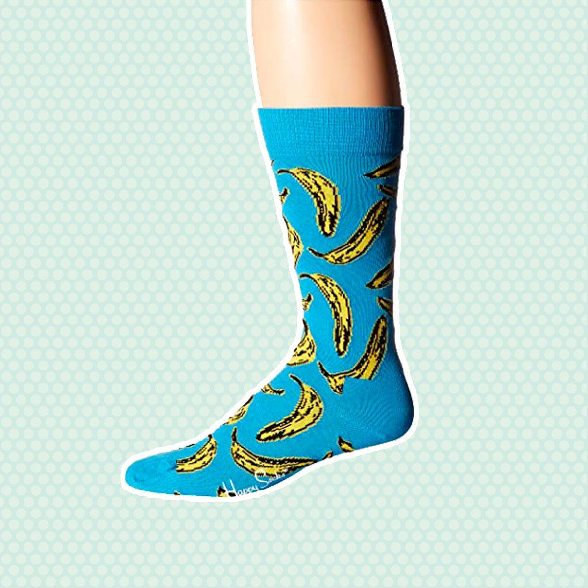 Andy Warhol Banana Socks
