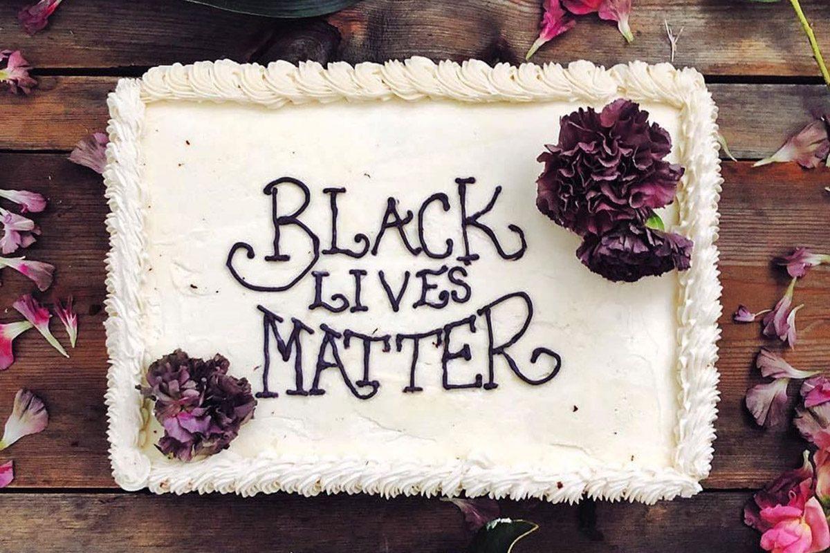 black lives matter cake