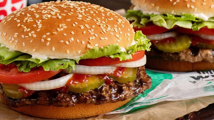 Burger King Tik Tok Whopper promotion