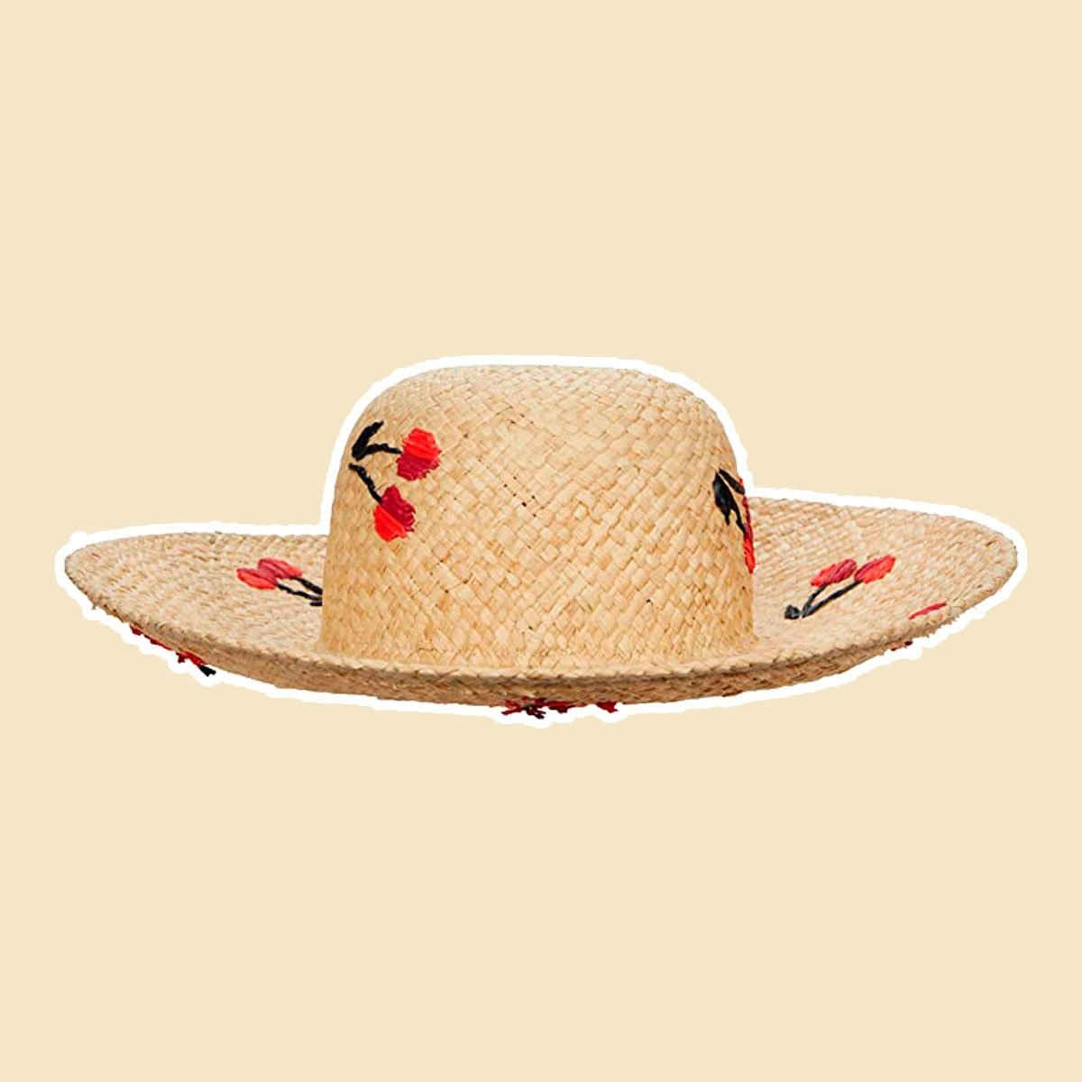 Cherries Sun Hat