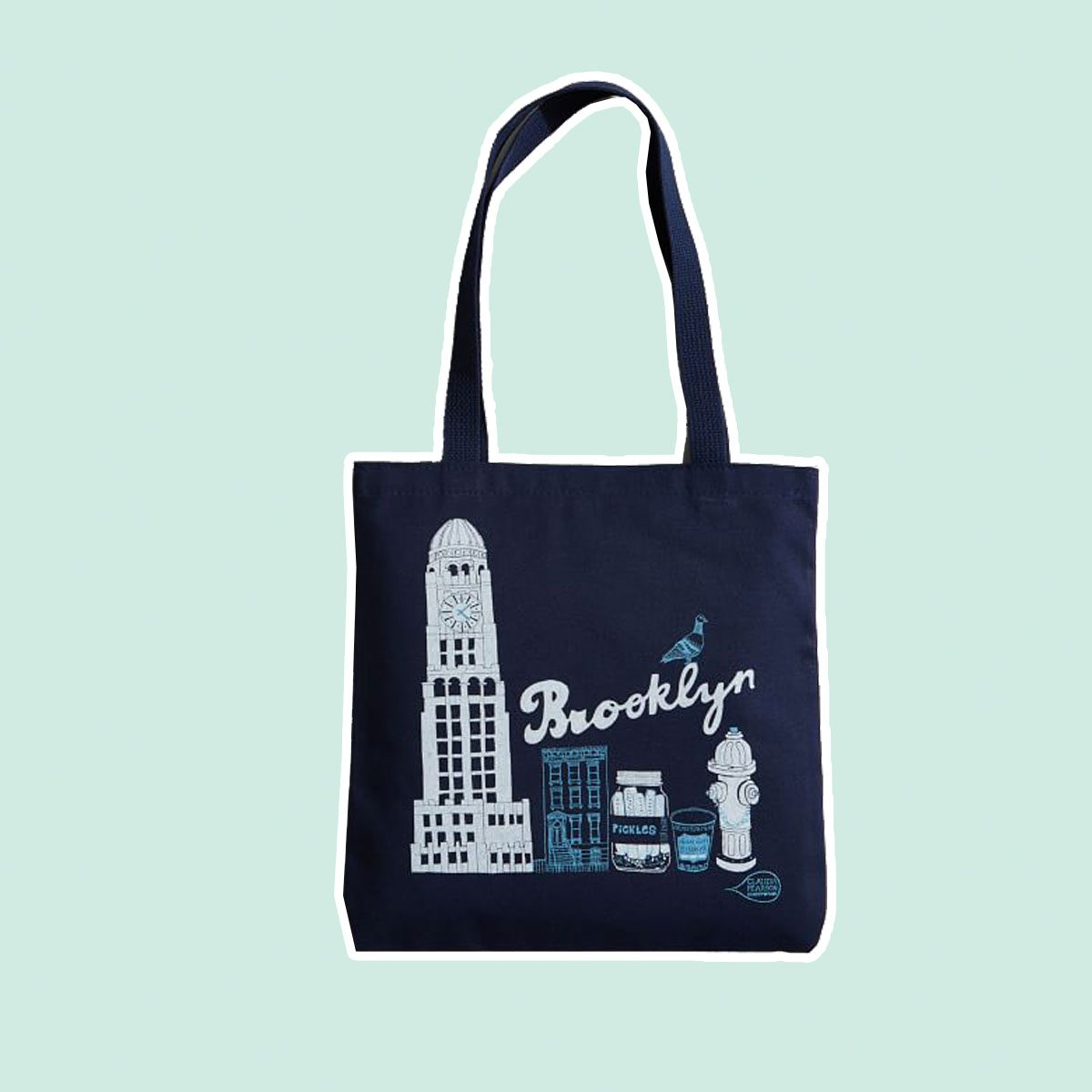 Claudia Pearson City Tote Bags