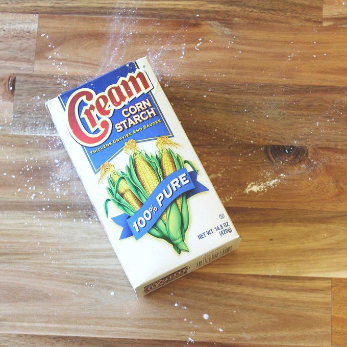Cream corn starch