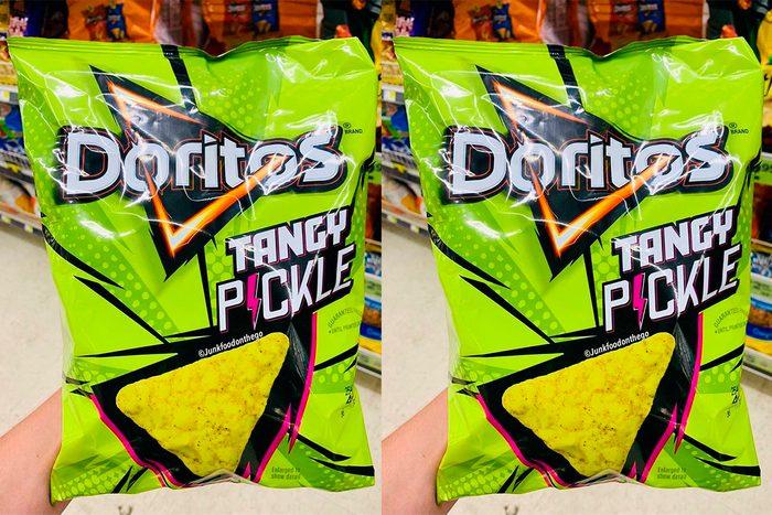 Doritos new Tangy Pickle flavor