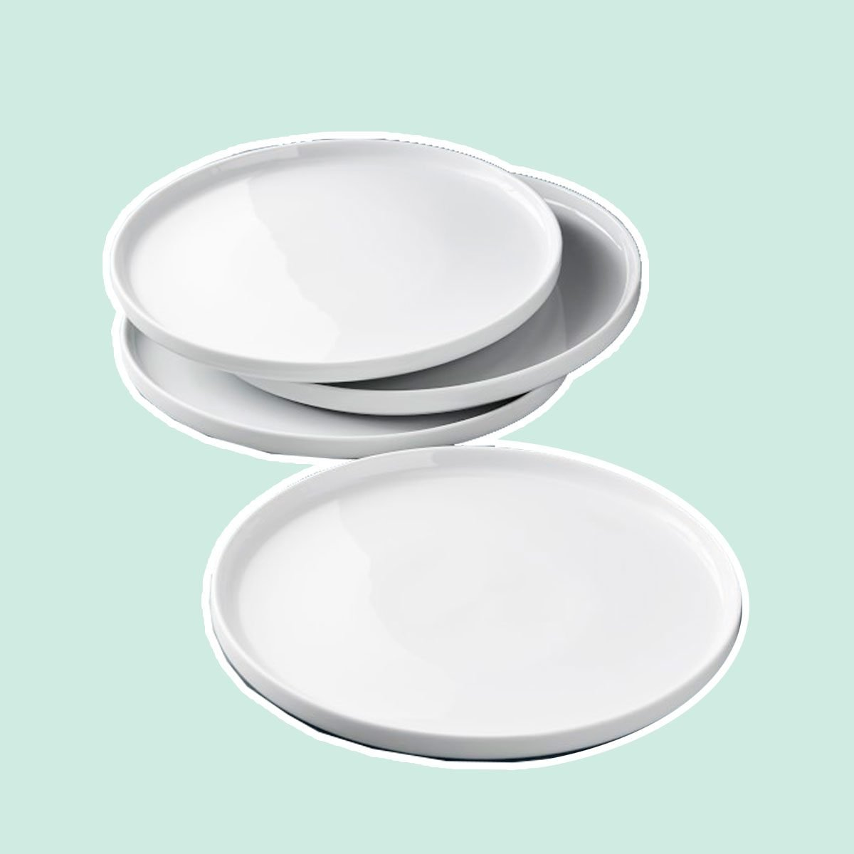 Open Kitchen by Williams Sonoma Edge Dinner Plates, Set of 4