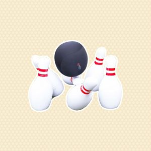 """HearthSong - Kids' Giant Indoor/Outdoor Inflatable Bowling Game with 29""""H Pins and 20""""diam. Ball for Kids"""