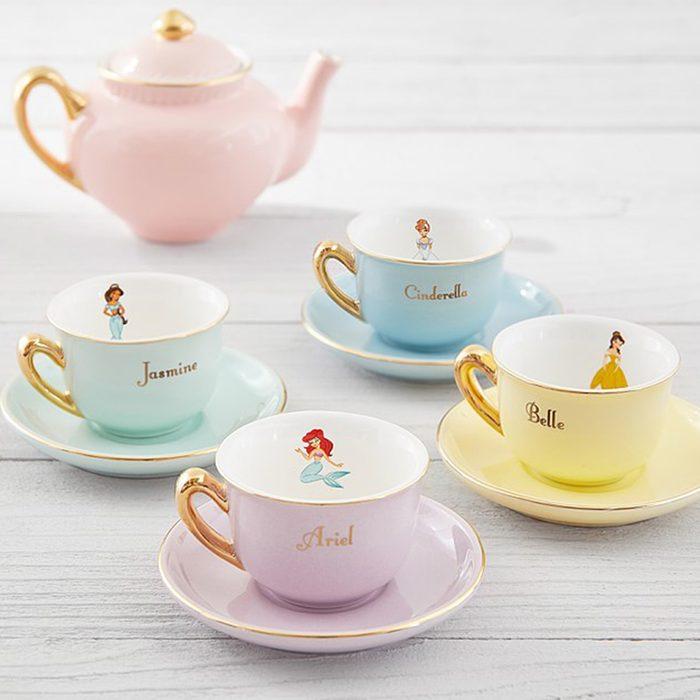 Disney Princess Porcelain Princess Tea Set