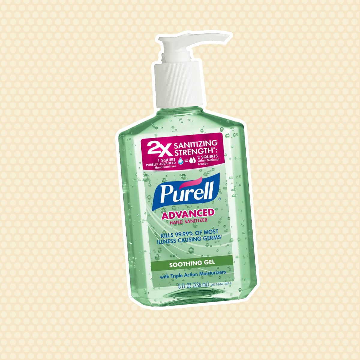 PURELL Advanced Hand Sanitizer Soothing Gel with Aloe and Vitamin E - 8 fl oz