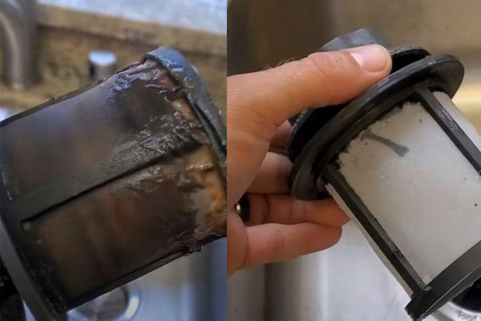 TikTok dishwasher filter hack