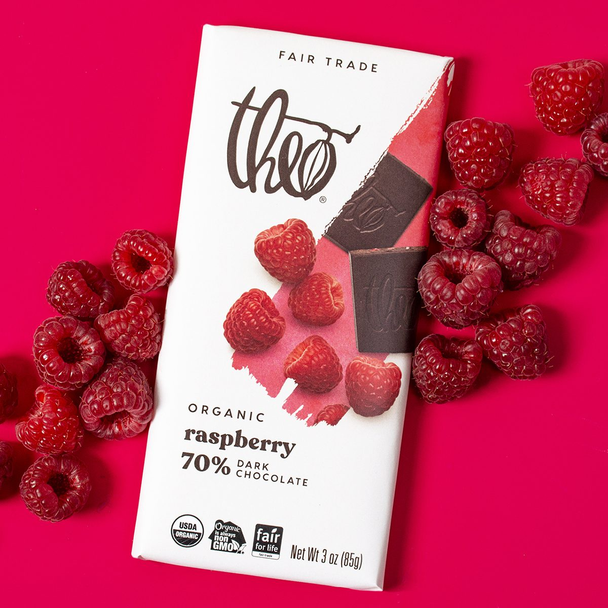 Raspberry 70% Dark Chocolate