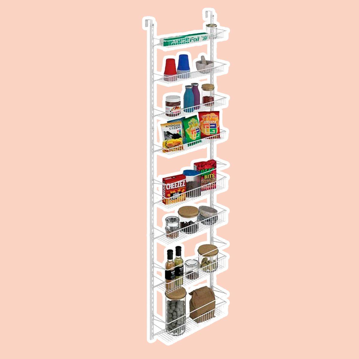 Adjustable Wall and Door Rack
