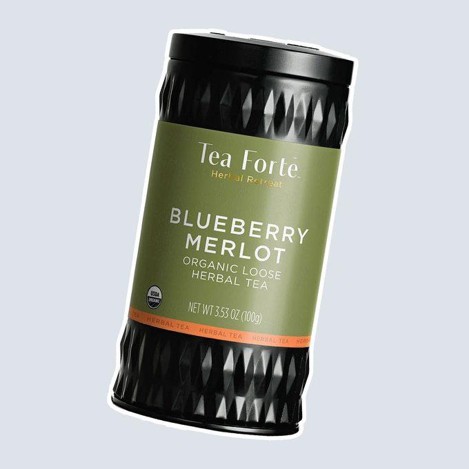 BLUEBERRY MERLOT TEA LOOSE LEAF TEA CANISTERS