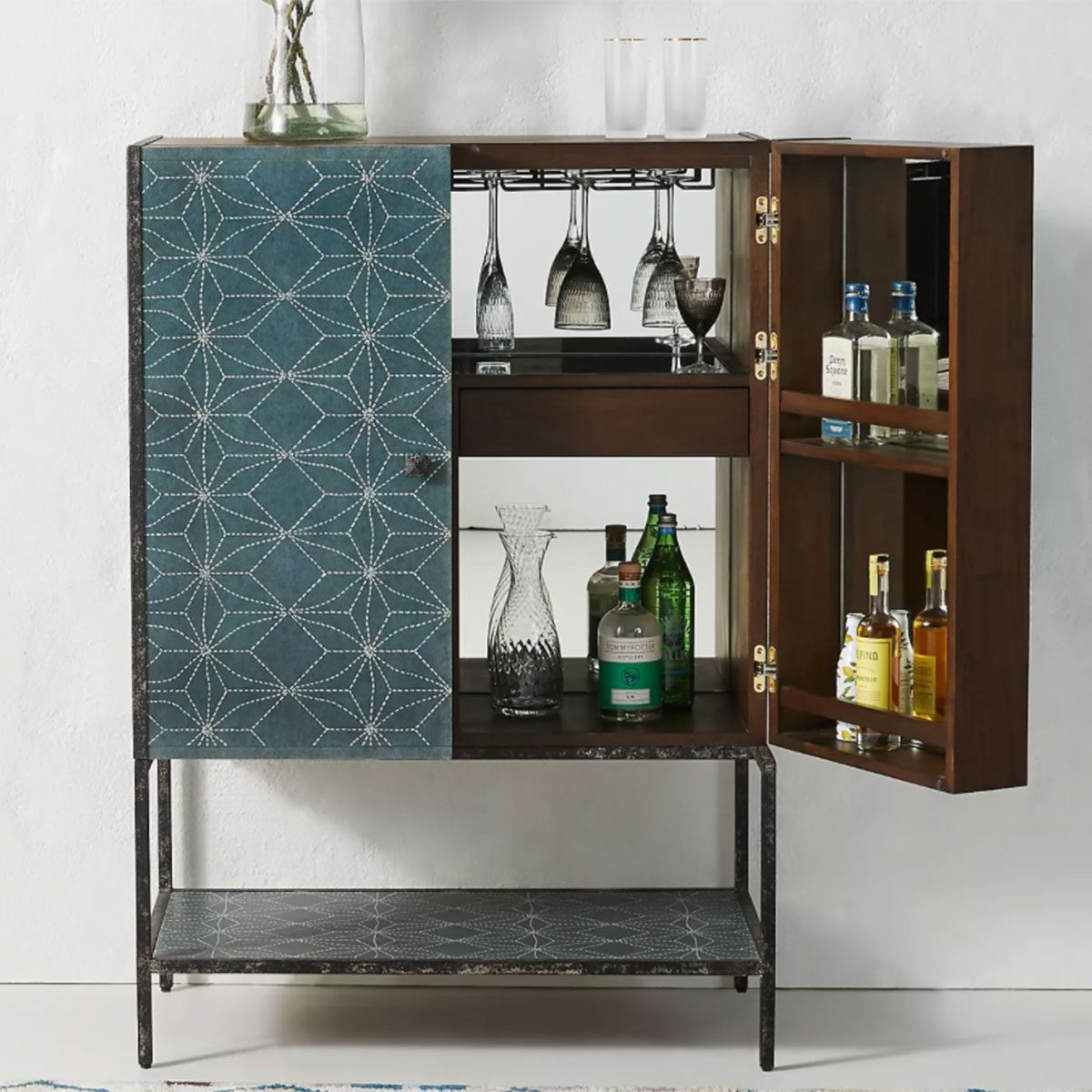Boro Star Bar Cabinet