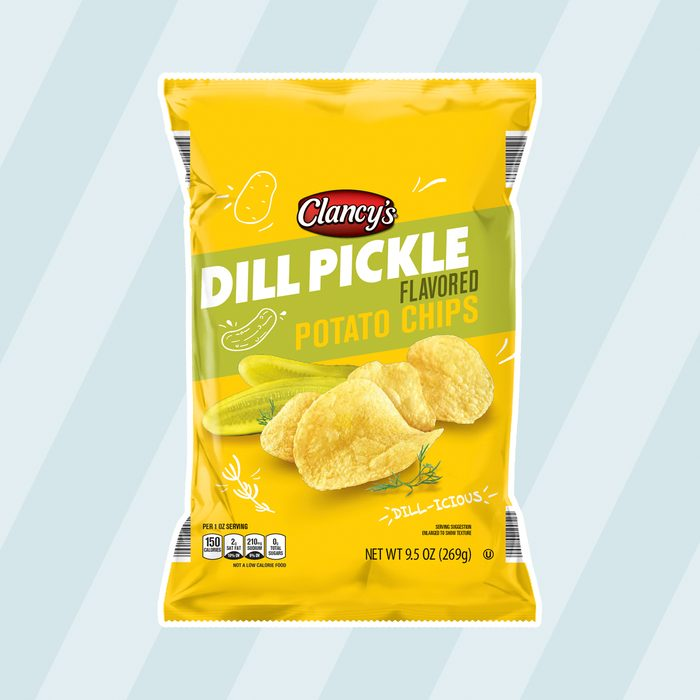 Clancys Dill Pickle Potato Chips