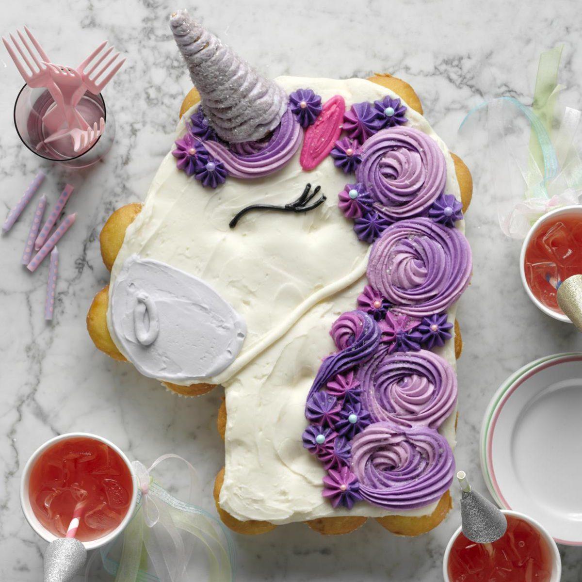 pullapart cupcake unicorn