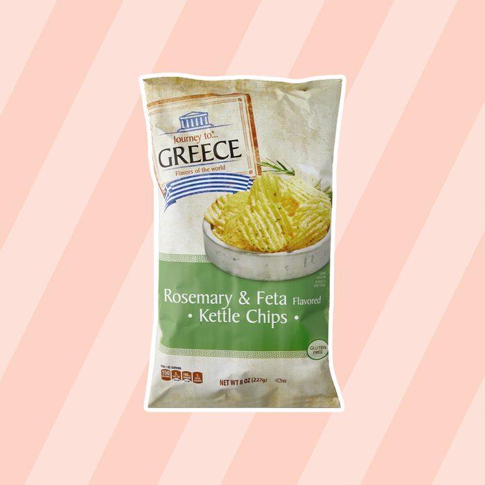 Greece Krinkle Cut Kettle Chips