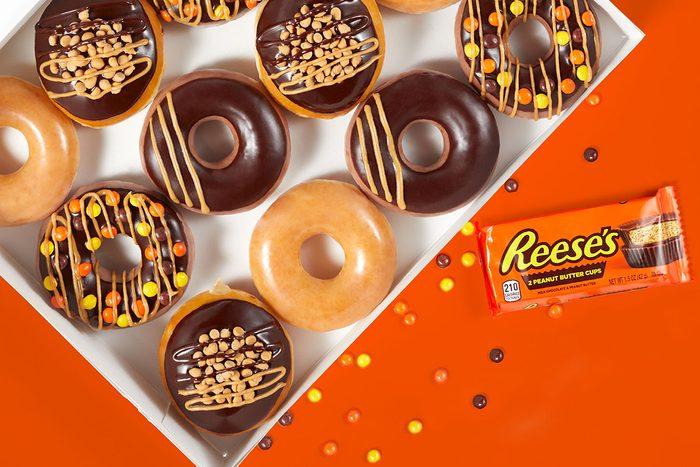 Krispy Kreme Reeses Doughnuts dozen
