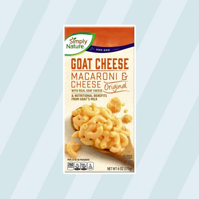 Simply Nature Goat Cheese Macaroni Cheese
