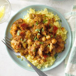 Slow-Cooker Chicken Tagine with Pumpkin