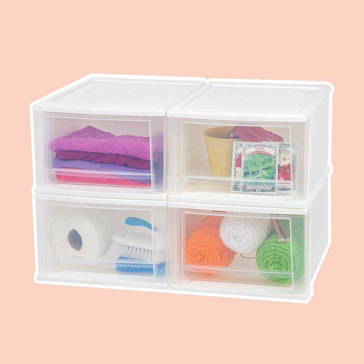 Stackable Plastic Bins