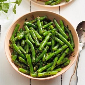 Syrian Green Beans with Fresh Herbs