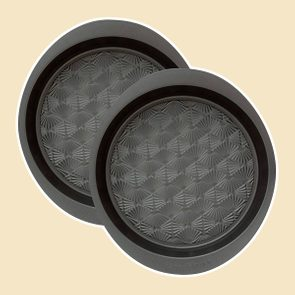 Taste of Home Set of 2-9-inch Non-Stick Metal Round Baking Pan