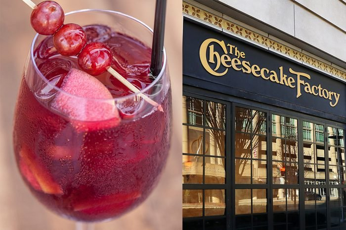 Cheesecake Factory Red Sangria