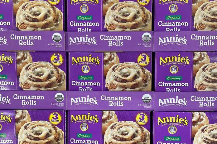 Costco selling Annie's Cinnamon Rolls