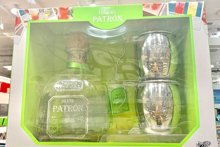 Patron gift set from Costco