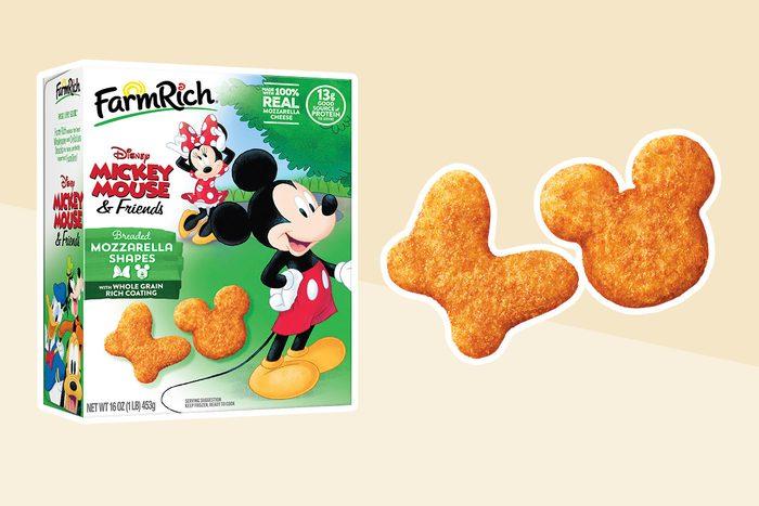 Disney mozzarella shapes
