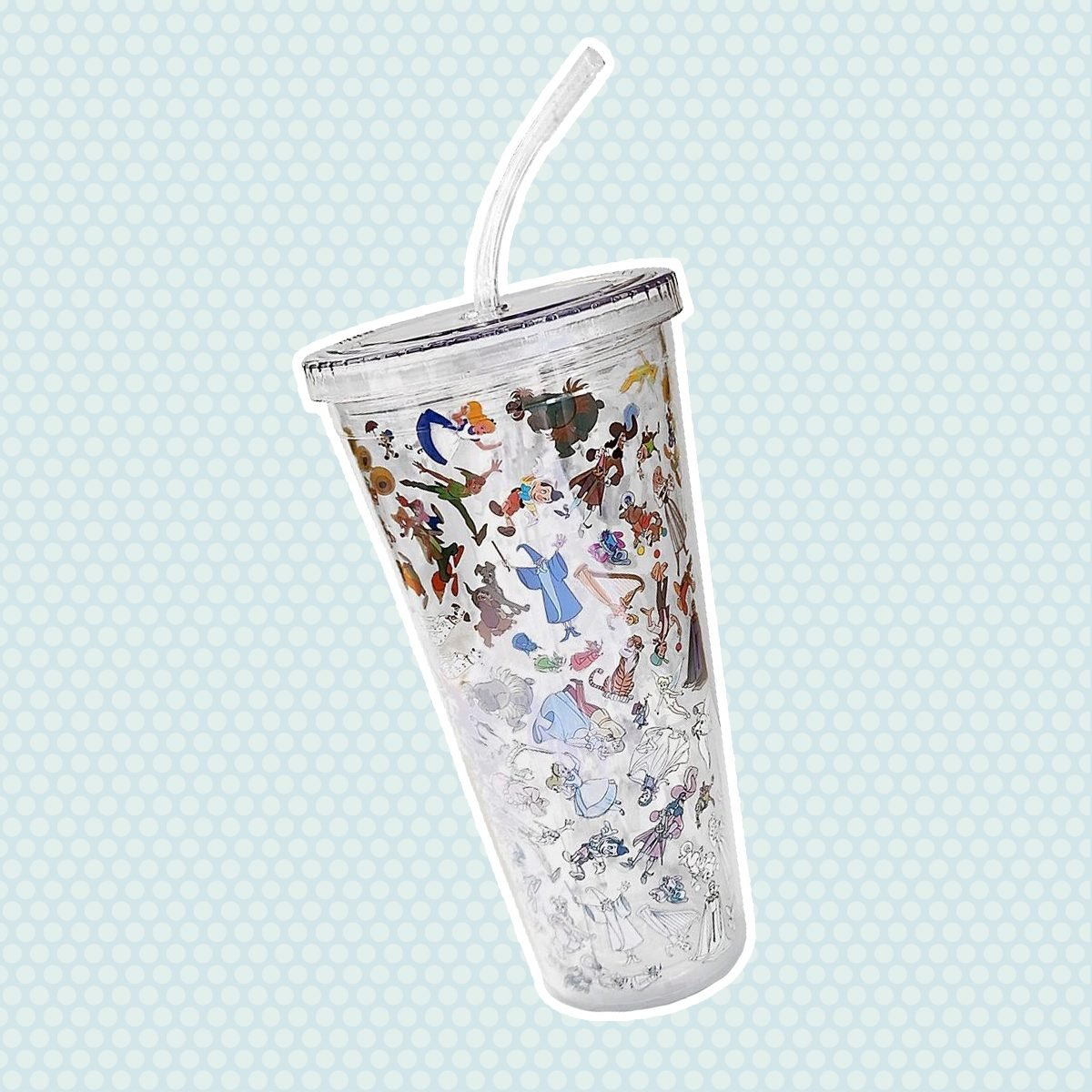 Disney Ink & Paint Tumbler with Straw  Large