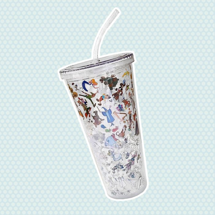 Disney Ink & Paint Tumbler with Straw – Large