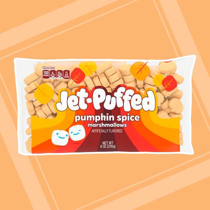 Jet-Puffed pumpkin spice marshmallows