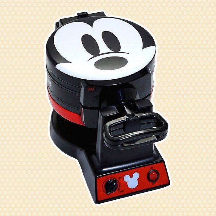 Disney Mickey Mouse Flip Mini Waffle Maker