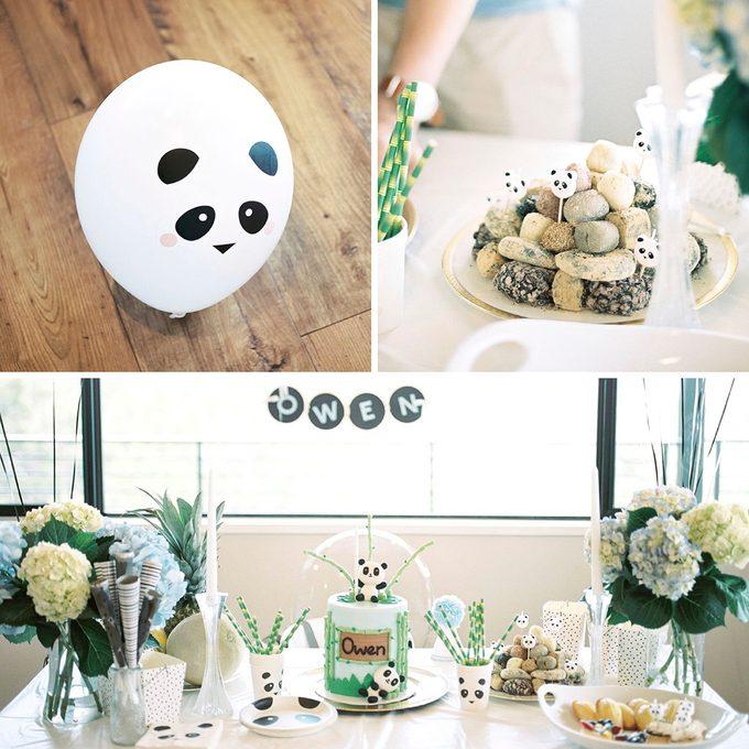Panda first birthday party ideas